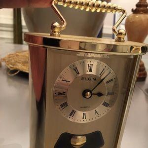 Elgin miniature clock 5in